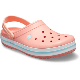 Crocs Crocband Clogs zoccoli, melon/ice blue